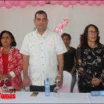"""Alexis Provocon realiza con éxito charla """"Prevención cáncer de mama y violencia de género"""""""