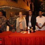 Alberto Rodríguez Y Junta de vecinos la Nueva Unión gran cena navideña