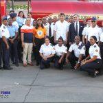 Fundación Tropigas entrega estación de Bomberos SDO y camión cisterna en Las Palmas de Herrera.