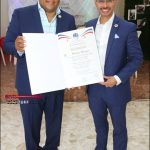 Regidor Wascar Rivera reconoce Presidente del Concejo de Regidores de la Ciudad de Lawrence,Estados Unidos