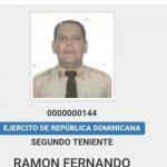 Ascienden a primer teniente del Ejército Dominicano a Fernando Villalona