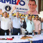 Luis Abinader juramenta a Alexis Provocon en su equipo de Santo Domingo Oeste