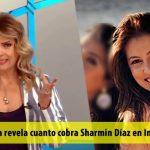 Nuria Piera revela cuanto cobra Sharmin Díaz en Indotel
