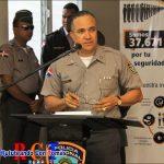 Director policial dice estamos con los comunitarios de Herrera para fortalecer estrategias para combatir el crimen