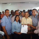 Leyvi Bautista se inscribe como precandidata a  diputada del PRM por SDO
