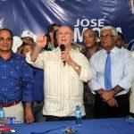 Hipólito Mejía Visita Santo Domingo Oeste