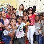 FUNDASSEN entrega útiles escolares a niños en Guajimía SDO