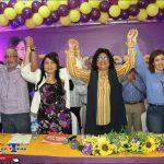 Aspirante a diputada Valentina Cruz realiza acto masivo en SDO