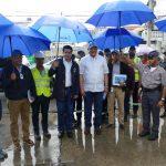 CAASD, ADN y MOPC inician plan de contingencia para limpiar y resolver problemas de drenaje pluvial