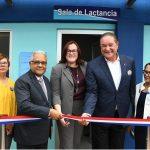 Autoridades inauguran Sala Amiga de Lactancia Materna en la CAASD