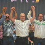 Gonzalo Castillo lanza precandidatura presidencial en Santiago
