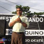 """Vinicio Aquino inaugura en Bellas Colinas """"primera calle comunitaria"""" en SDO"""