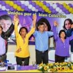 Jacobina Moreno y Dra. Lora realizan acto masivo apoyando al alcalde Francisco Peña