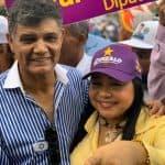 Valentina Cruz respalda a Francisco Peña en mano a mano en sector Buenos Aires