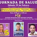 Gran jornada de salud (Operativo Medico)  en el Bloque Francisco del Rosario Sánchez