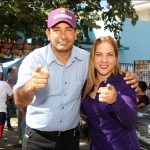 La alianza PLD y PRD realiza actividades simultáneas en sectores de Santo Domingo Oeste.