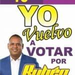 15 de Marzo a votar por Ruben Aybar Regidor