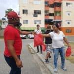 Candidato a Diputado Manuel Disla entrega KIT de Desayuno en Santo Domingo Oeste