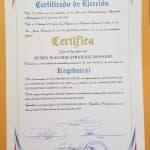 Ruben Aybar con certificado de regidor y sin coronavirus