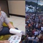 Policía suspende comandante de dotación de Puerto Plata por permitir manifestación contra coronavirus