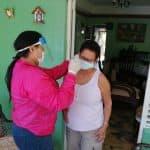 Valentina Cruz continúa realizando las jornadas de fumigación y desinfección en el municipio Santo Domingo Oeste