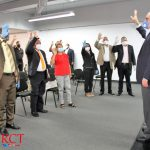Luis Abinader recibe apoyo de dirigentes de partidos políticos y líderes comunitarios de SDO