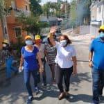 Diputada Ana María Peña continúa indetenible en la lucha contra el Covid-19 en SDO.