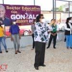 Juramentan Movimiento Educadores Con Gonzalo y Cristina en SDO