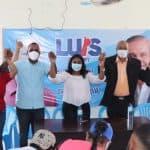 Alberto Díaz se va con el cambio en apoyo a Leyvi Bautista.