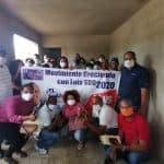 CRECIENDO CON LUIS EN SDO, Juramenta equipo de Apoyo en el sector Las Caobas
