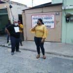 Valentina de la Cruz sigue realizando su labor social
