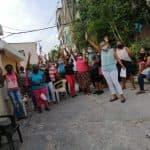 Promotoras de salud en SDO se juramentan a Movimiento Nuevo Horizonte en apoyo Abinader y Leyvi Bautista