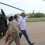 Presidente Luis Abinader llega a Pedernales, donde tiene planes para impulsar el turismo