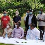 El Ayuntamiento de Santo Domingo Oeste realiza limpieza en Paraíso del Caribe.