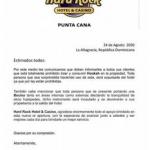 """Hotel Hard Rock de Punta Cana informa la hookah y las bocinas están """"totalmente prohibidos"""" en sus instalaciones"""