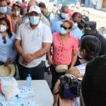 La Intendente Gobernación SDO se integra junto al Área VII a realizar movilización social para controlar el Dengue