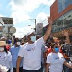 Alcaldía de SDO camina en compañía del INTRANT por motivo a la Semana de la Movilidad Sostenible