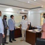 Alcalde de SDO se reúne con Viceministros de Cultura para tratar acondicionamiento de las Ruinas de Engombe y Hato Nuevo.