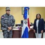 Gobernadora recibe director regional de P. N. Santo Domingo Norte