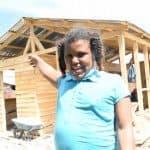La niña que le solicitó a Abinader una nueva vivienda quiere ser ingeniera