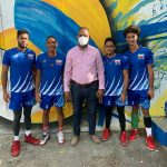 Regidor Rubén Aybar continúa agenda de apoyo al deporte; apadrina equipos en Grand Prix Liga Amigos de Voleibol Masculino