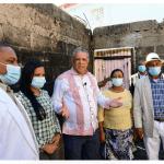 INAVI acude en auxilio de mujer cuya vivienda fue consumida por incendio en el municipio de Pedro Brand