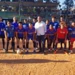 Dedican Torneo de Fútbol ADECEA 2020 al Regidor Rubén Aybar