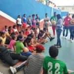 """Intendente de la Gobernación Tania Ferreira realizó una visita de cortesía a la Escuela de Vóleibol El Faraón"""""""