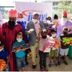 INAVI lleva alegría a centenares de niños pobres de Herrera con la entrega de juguetes