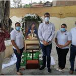 Rafael Garcia asiste misa de celebración Día de la Altagracia en El Café