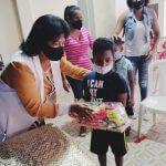 """Regidora Jacobina Moreno continúa con el proyecto """"Un juguete por la sonrisa de un niño"""""""