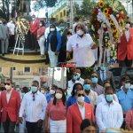 Alcaldía de Haina participa en Ofrenda Floral por el 208 aniversario del Natalicio de Juan Pablo Duarte