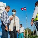 Alcalde ordena remozar busto gigante y plaza Juan Pablo Duarte en Santo Domingo Este