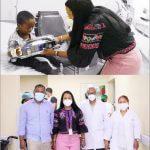 Scarlet Benzan entrega juguetes en hospitales a niños de escasos recursos